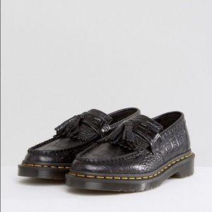 Doc Marten's Adrian Croc Tassel Loafers